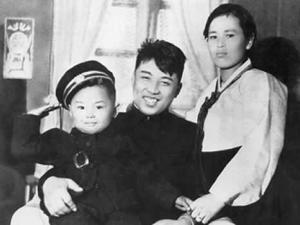 Kim Jon Il, aged 3